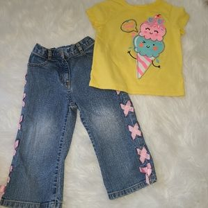 Adorable outfit little girl  size 3T